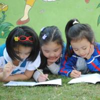 Đề thi học kỳ 1 môn Tiếng Anh lớp 1 trường TH Phan Sào Nam, Hưng Yên năm học 2016 - 2017 có file nghe và đáp án