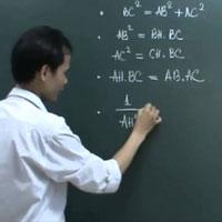 Bài tập trắc nghiệm hệ thức lượng trong tam giác