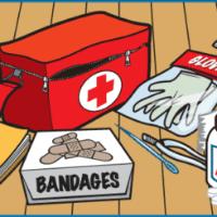 Bài tập tiếng Anh lớp 8 Unit 9: A First Aid Course có đáp án - Số 3