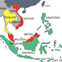 Câu hỏi trắc nghiệm và bài tập Địa lý lớp 11 - Bài 11: Khu vực Đông Nam Á (Tiết 1)