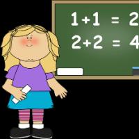 Bài tập Toán Tiếng Anh lớp 1: Skip Counting by 1 Digit