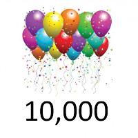 Bài tập Toán Tiếng Anh lớp 3: Write Numbers up to 10,000