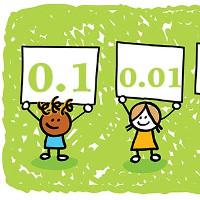 Bài tập Toán Tiếng Anh lớp 5: Write Decimals Words up to Thousandths