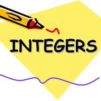 Bài tập Toán Tiếng Anh lớp 6: Add/ Subtract Integers - Mising