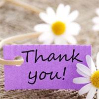 Mẫu lời cảm ơn dùng trong đám cưới