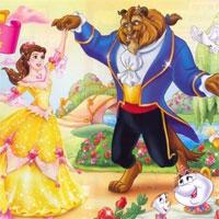 Tranh tô màu công chúa Belle cho bé gái dễ thương nhất