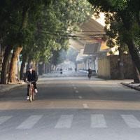 Tả cảnh đường phố vào buổi sáng đạt điểm 10, 9