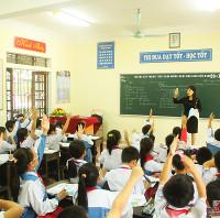Đề thi học kỳ 2 môn Tiếng Anh lớp 6 THCS Tam Hòa, Biên Hòa năm học 2015 - 2016 có file nghe