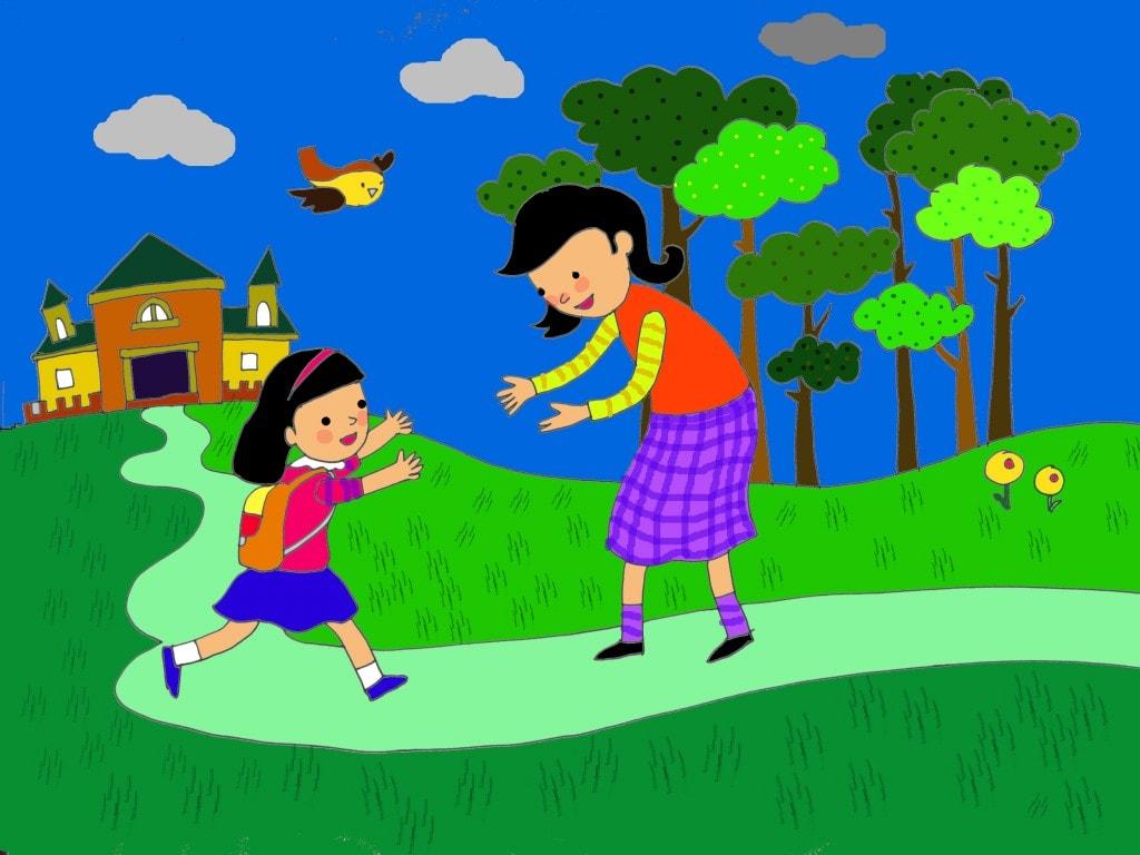 Những bài thơ về chủ đề gia đình cho bé mầm non