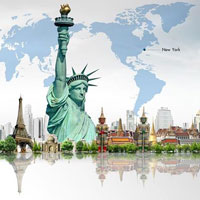 Bài tập trắc nghiệm Lịch sử 9: Nước Mĩ