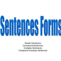 Các loại câu trong tiếng Anh