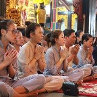 Cách sắm lễ đi chùa ngày rằm tháng 7