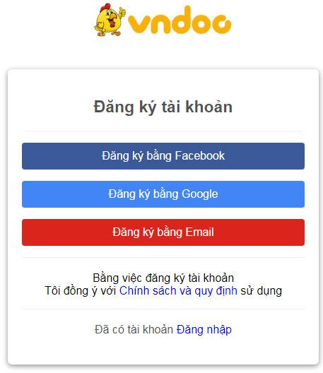 Hướng dẫn cách chia sẻ và tải tài liệu trên VnDoc.com