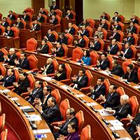 Mẫu bìa bài thu hoạch Nghị quyết trung ương 5 khóa XII