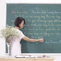Bí quyết để viết bảng bằng phấn được đẹp