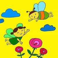 Giáo án lớp lá (5 - 6 tuổi): Bướm và ong
