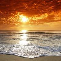Tả cảnh biển vào buổi sáng sớm