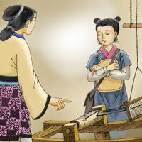 Trong vai thầy Mạnh Tử, kể về người mẹ của mình