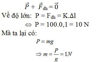 Giải bài tập Vật lý 10 bài 12