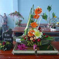 Hướng dẫn cắm hoa và thuyết trình cắm hoa ngày 20-11