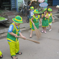 Kể chuyện lớp 5: Kể lại một việc tốt em đã làm để góp phần bảo vệ môi trường