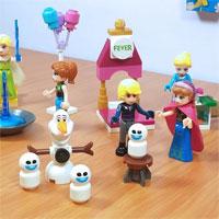 Hướng dẫn lắp ráp LEGO hình người tuyết