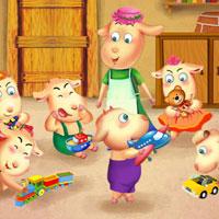 Truyện cổ tích cho bé: Chó sói và bảy chú dê con