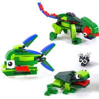 Hướng dẫn lắp ráp LEGO hình con ếch
