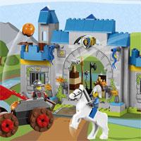 Hướng dẫn lắp ráp LEGO hình lâu đài