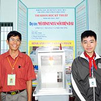 Các biểu mẫu đăng kí thi Khoa học kĩ thuật dành cho học sinh trung học