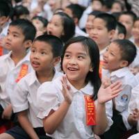 Đề kiểm tra học kì 1 môn Tiếng Anh lớp 3 trường tiểu học Bến Đình, Tây Ninh năm 2017 - 2018 có đáp án