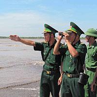 Bài dự thi tìm hiểu về biên giới và Bộ đội Biên phòng