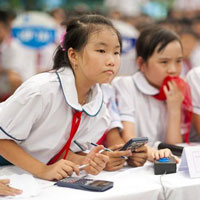 Đề thi học kì 1 môn Toán lớp 5 trường Tiểu học Hợp Thịnh, Vĩnh Phúc năm học 2017 - 2018