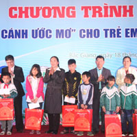 Bài phát biểu của học sinh lên nhận học bổng