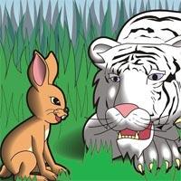 Truyện cổ tích cho bé: Con thỏ và con hổ