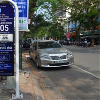 Cách tìm chỗ đỗ xe ở Hà Nội bằng iParking