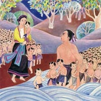 Truyện cổ tích cho bé: Truyền thuyết con Rồng cháu Tiên