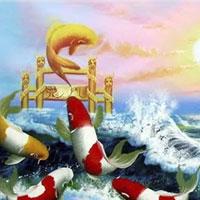 Truyện cổ tích cho bé: Sự tích cá chép hóa rồng