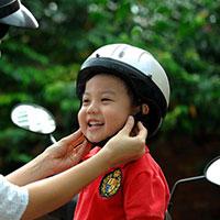 Bài tuyên truyền về việc bắt buộc đội mũ bảo hiểm đối với học sinh