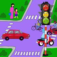 Lập chương trình hoạt động Thi vẽ tranh, sáng tác thơ, truyện về an toàn giao thông