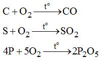 Giải bài tập trang 32 SGK Hóa học lớp 8: Tính chất của oxi