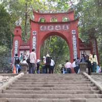 Tập đọc lớp 5: Phong cảnh đền Hùng