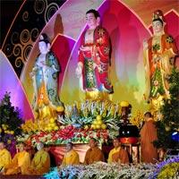 Văn khấn an vị tượng Phật