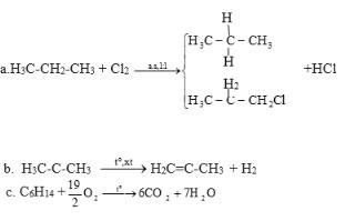 Giải bài tập Hóa học 11: Ankan