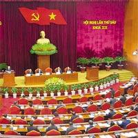 Mẫu bài thu hoạch Nghị quyết Trung ương 6 khóa 12 dành cho cán bộ chủ chốt