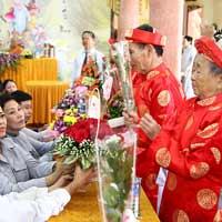 Cách tổ chức lễ mừng thọ cho ông bà, cha mẹ