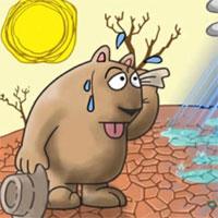 Tập bản đồ Địa lý lớp 6 bài 18: Thời tiết, khí hậu và nhiệt độ không khí