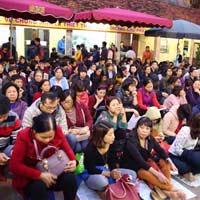Lịch dâng sao giải hạn chùa Phúc Khánh năm Canh Tý 2020