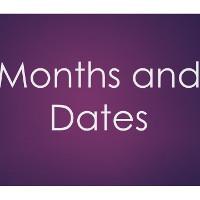 Tháng trong tiếng Anh: Tên, viết tắt, cách đọc