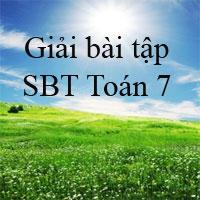 Giải bài tập SBT Toán 7 bài 12: Số thực